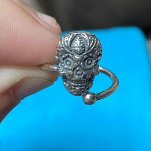 Alex and ani day of the dead pinkie ring